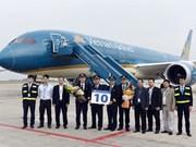 Vietnam Airlines reçoit son dixième Boeing 787-9 Dreamliner