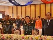 Rencontre d'anciens étudiants militaires cambodgiens ayant étudié au Vietnam à Phnom Penh