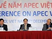 Année APEC 2017 - focus sur les activités extérieures du Vietnam dans l'intégration internationale