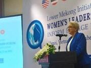 Promouvoir la position des femmes du Bas-Mékong