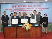 Binh Duong et Dong Nai coopèrent avec la R. de Corée dans la formation des ressources humaines