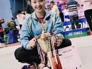 Badminton: une Vietnamienne remporte un tournoi international au Népal