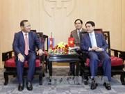 Hanoï et Phnom Penh renforcent leur coopération