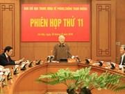 Le chef du Parti demande de renforcer la lutte contre la corruption