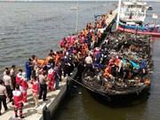 Indonésie : au moins 23 morts dans l'incendie d'un bateau