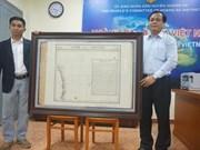 Une nouvelle carte précieuse sur Hoang Sa