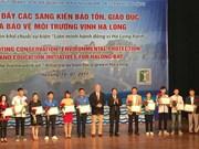 Promouvoir les initiatives de protection de l'environnement de la baie de Ha Long