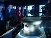 Inauguration d'une exposition spéciale des trésors nationaux du Vietnam