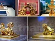Dix-huit trésors nationaux exposés à Hanoï