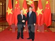 Le secrétaire général du PCV Nguyen Phu Trong en visite officielle en Chine