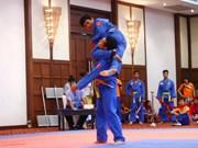 Le Vietnam est champion d'Asie du Sud-Est de vovinam 2017