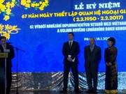 Célébration du 67e anniversaire des relations Vietnam-R. tchèque à Prague