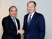 Nguyen Xuan Phuc rencontre à Davos les dirigeants de la BM, de l'OMC et du groupe Alibaba