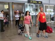 Les premiers touristes étrangers de l'année du Coq 2017 à Da Nang