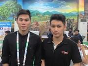 """Les deux joueurs vietnamiens au Festival international d'échecs """"Open Aeroflot 2017"""""""