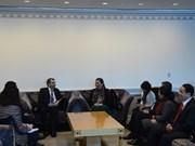 Activités de la vice-présidente de l'AN Tong Thi Phong à New York