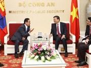 Vietnam-Mongolie: intensification de la coopération entre les organes d'application des lois