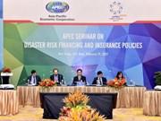Des politiques financières et d'assurance de résilence aux risques de catastrophes naturelles
