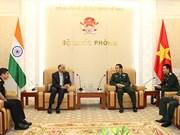 Le Vietnam et l'Inde intensifient leur coopération dans la défense