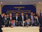 Réunion des ministres du Plan du Vietnam et du Cambodge