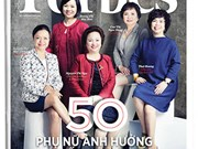 Top 50 des femmes les plus puissantes du Vietnam