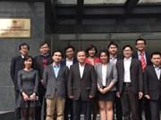 Des scientifiques vietnamiens en France avec plusieurs projets soutenant le Vietnam