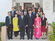 Une délégation du Parquet populaire suprême en visite à Mozambique