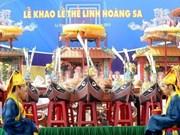 La province de Quang Ngai rend hommage aux garnisons de Hoàng Sa