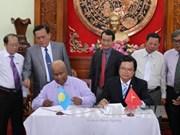Les Palaos veulent coopérer dans le secteur des produits aquatiques de Tiên Giang