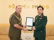 Le Vietnam et la Nouvelle-Zélande renforcent leur coopération dans l'armée