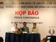 HCM-Ville : 520 entreprises à l'exposition Food&Hotel Vietnam 2017