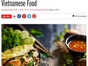 La cuisine vietnamienne continue à faire parler d'elle à l'étranger