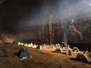 La grotte de Son Doong parmi les campings les plus impressionnants du monde