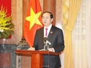 Interview au seuil de la visite officielle du président Tran Dai Quang en Biélorussie et en Russie