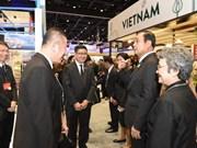 Les entreprises vietnamiennes au Forum et à l'Exposition ASEAN-Inde 2017