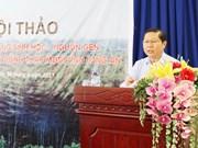 Préserver la diversité génétique des plantes médicinales à Dong Thap Muoi