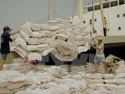 Forte hausse des exportations nationales de riz en 8 mois