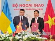 Vietnam-Ukraine : entretien entre les deux chefs de la diplomatie