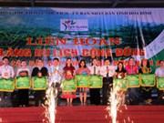 Clôture du Festival des villages du tourisme du Nord-Ouest à Hoa Binh