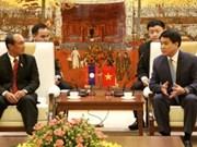 Hanoï - Luang Prabang : volonté commune d'intensifier la coopération