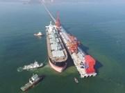 Le quai international de Vissai mis en service à Nghe An