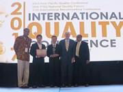 Quatre entreprises vietnamiennes primées aux Prix de la qualité de l'Asie-Pacifique 2014