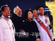 La vice-présidente du Vietnam assiste à la crémation de l'ancien roi de Thaïlande