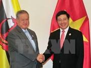 Pham Binh Minh rencontre le deuxième ministre des AE et du Commerce du Brunei