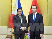 Tran Dai Quang rencontre des dirigeants des Philippines, du Myanmar et de Malaisie