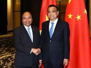 Sommet de l'ASEAN: le PM rencontre son homologue chinois