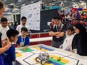 Une équipe vietnamienne s'illustre dans le Top 10 de l'Olympiade mondiale des robots WRO 2017