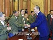 Tran Dai Quang rend hommage aux Laotiens méritoires envers le Vietnam