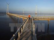 Mise en chantier de la première centrale éolienne à Ben Tre