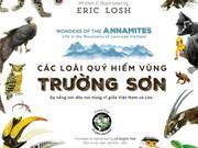 Présentation d'un livre sur les espèces animales rares de la région de Truong Son